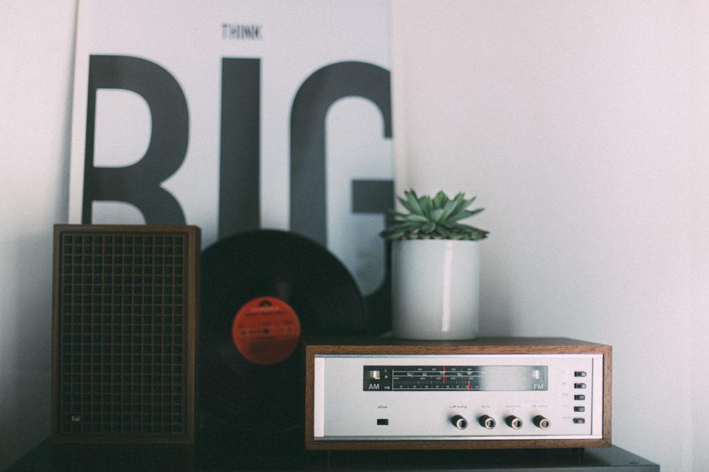 Vintage zestaw audio