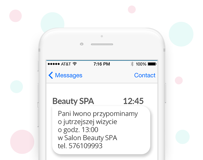 Akcje SMS - salon